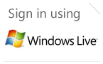Sign in with Windows Live